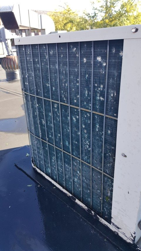 Air Conditioner Hail Damage What About Your Ac Unit