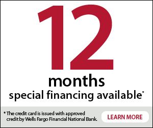 Apply now for Wells Fargo 12 mo financing