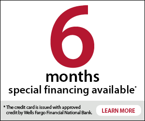 Apply now for Wells Fargo 6 mo financing